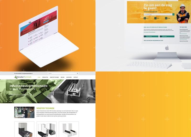 Webdesign en bouw